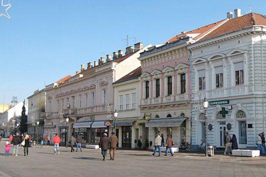 Slavonski Brod - Zentrum