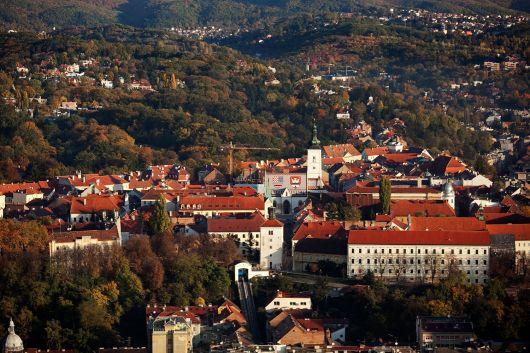 Zagreb - Hauptstadt Kroatien
