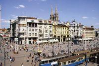Zagreb - Ban Jelacic Platz