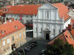 Zagreb - große Kirche im Zentrum