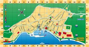 Stadtplan Baska Voda