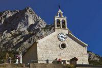 Baska Voda - Kirche Maria Himmelfahrt in Bast