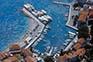 Bol - Luftaufnahme Hafen