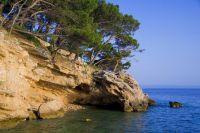 Höhle Medvidina - Strand Berulia