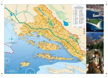 Brela - Karte Region