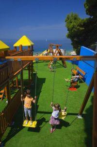 Brela - Spielplatz in Soline