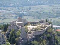 Imotski - Ruine Festung Topana