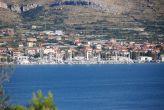 Blick vom Meer auf Ciovo