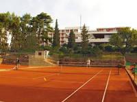 Tennisplatz Bucht Mina