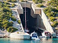 Ehemaliger U-Boot-Hafen