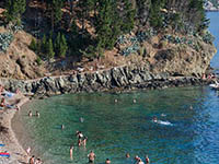 Strand Bucht Kamice - Komiza