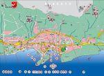 Makarska Karte Sehenswürdigkeiten