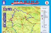 Marina - Radwanderkarte, Radwege