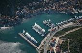 Luftaufnahme Marina & Jachthafen Agana