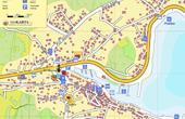 Marina - Stadtplan