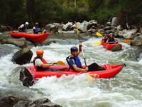 Rafting Fluss Cetina