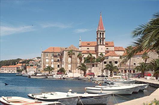 Milna, Insel Brac, Dalmatien, Kroatien