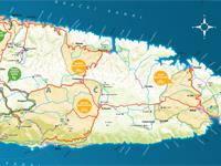 Insel Brac - Milna - Rad-& Wanderkarte