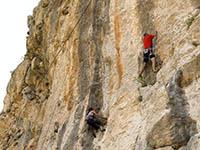Klettern in Omis