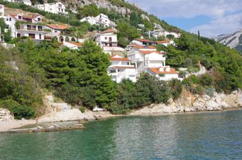 Die Ferienhaussiedlung von Pisak