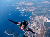 Sinj Fallschirmspringen