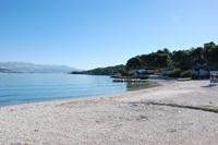 Strand Saskur in Slatine