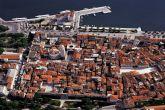 Split Zentrum - Luftaufnahme