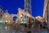 Diokletianpalast Split bei Nacht