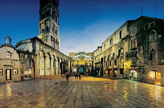 Split - Damatien, Kroatien