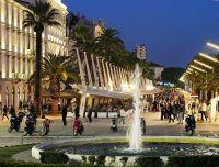 Split - Riva - Uferpromenade
