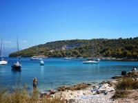 Split - Strand Slatine (Insel Ciovo)