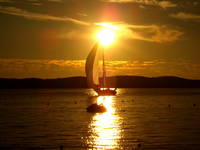 Segelboot - Insel Hvar