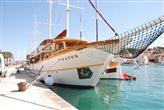 Segelschiffe in Trogir
