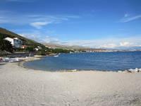 Blick auf das Meer am Strand Medena Seget