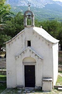 Tucepi - Kirche Hl. Georg (Sv. Jure)
