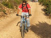 Radfahren Insel Vis