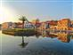Palmeninsel, Festungskirche und Promenade - Vrboska