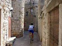 Betina - Radfahren