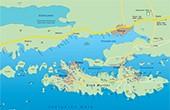 Übersichtskarte Insel Murter