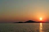 Kornaten, Sonnenuntergang