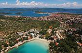 Urlaubsort Murter, Strand Slanica
