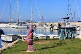 Insel Olib Hafen