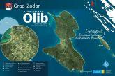 Insel Olib Karte