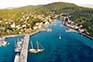 Ort Zlarin, Insel Zlarin, Kroatien