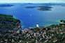 Blick auf Zlarin, Insel Zlarin
