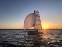Jezera - Segelboot