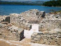 Ruinen Colentum - Murter, Insel Murter, Dalmatien, Kroatien