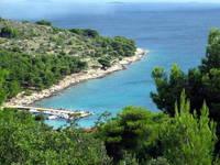 Strand Cigrada - Murter - Insel Murter, Dalmatien, Kroatien