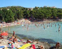 Strand Slanica - Murter - Insel Murter, Dalmatien, Kroatien
