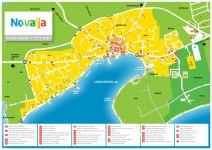 Stadtplan Novalja
